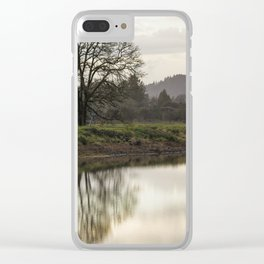 Rainy Day Turnaround Clear iPhone Case