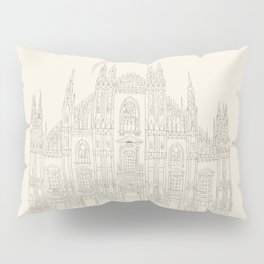 Cathedral of Milan Pillow Sham