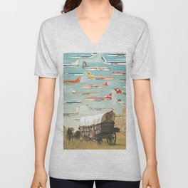 Over There Yonder Unisex V-Neck