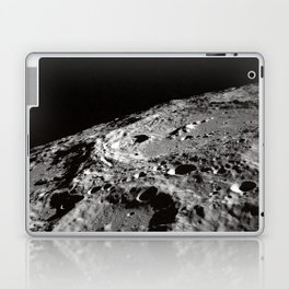 Terraced Wall Crater on the Lunar Limb  Laptop & iPad Skin