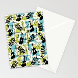 Guitar Mambo 44 Stationery Cards