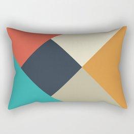 Daytime Abstract Rectangular Pillow