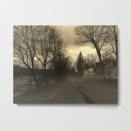 spooky roads Metal Print