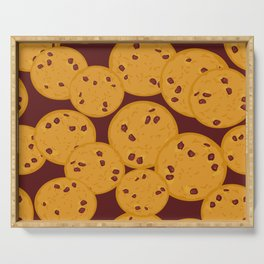 Chocolate chip cookie Serving Tray