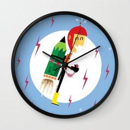 i-Rocketeer Wall Clock