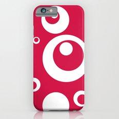 Circles Dots Bubbles :: Geranium Slim Case iPhone 6s
