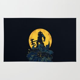 the king of Darkness Rug