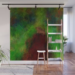 Wooded path abstract Wall Mural