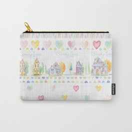 Little Houses: Candy Lane Carry-All Pouch