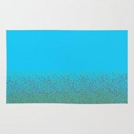 Minimalist Landscape Bluebells Rug