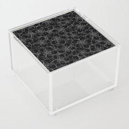 Cherry Blossom Black on White - In Memory of Mackenzie Acrylic Box