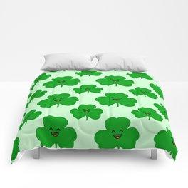 Happy Shamrock Comforters