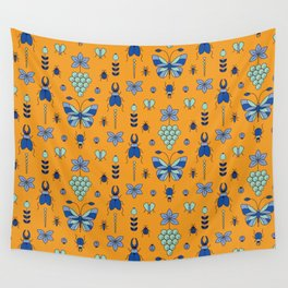 Insectarium Pattern Wall Tapestry