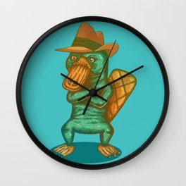 Perry the Platypus Wall Clock