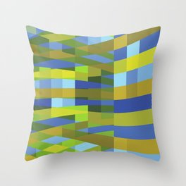 Barotropy Throw Pillow