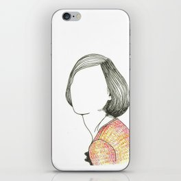 r. iPhone Skin
