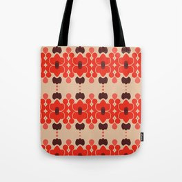 Red pattern rouge 6 Tote Bag