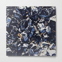 Blue stones Metal Print
