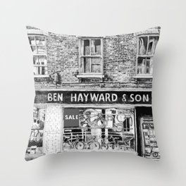 Ben Haywards Throw Pillow