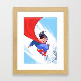 Lois&Clark Framed Art Print