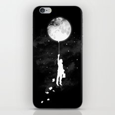 Midnight Traveler iPhone Skin