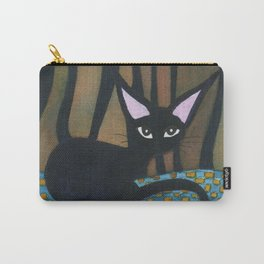 Corpus Christi Whimsical Cat Carry-All Pouch