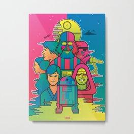 Starwars Metal Print