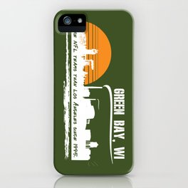 Green Bay's Charm iPhone Case