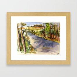 Gordon's Pond Framed Art Print