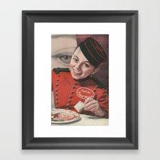 Lobby Boy Framed Art Print