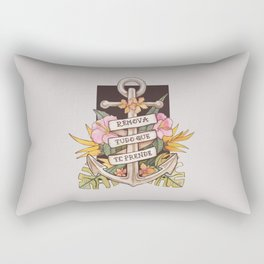 Remove everything that holds you down Rectangular Pillow