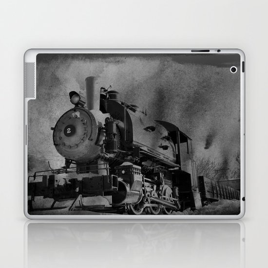 Old School Choo Choo Laptop & iPad Skin