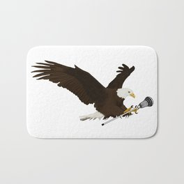 Lacrosse Eagle Bath Mat