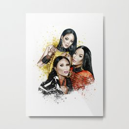 Balmain Girls Metal Print