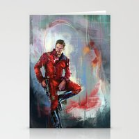 star lord Stationery Cards featuring Star-Lord by Wisesnail