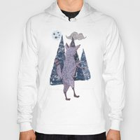 coyote Hoodies featuring COYOTE by Kevin Whipple