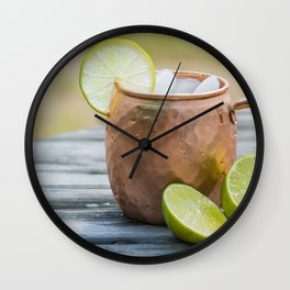 Refreshing Moscow Mule Wall Clock