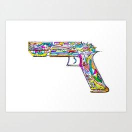 Raygun #5 Art Print