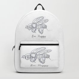 Bee Happy Sketch Backpack