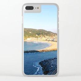 Donostia San Sebastián overlook Clear iPhone Case
