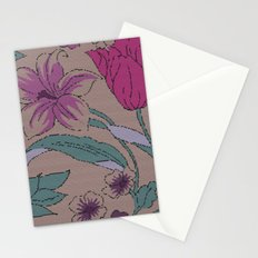 floral knit Stationery Cards