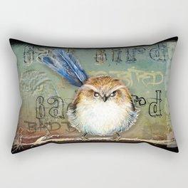 Bad bird Rectangular Pillow