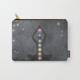 My Chakras Are A Rainbow Carry-All Pouch