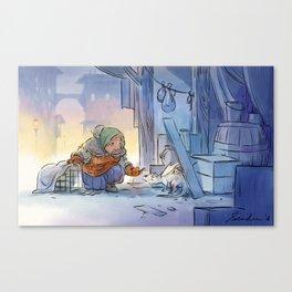 Mamie Dragon - Help Canvas Print