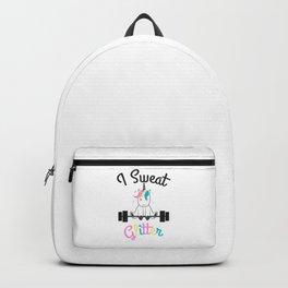 Unicorn Women Fitness Shirt Funny Backpack