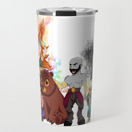 Vox Machina, Critical Role Colour Art Travel Mug