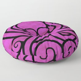 Octo-Doodle-Pus Pink Floor Pillow