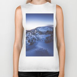 Cold night - Landscape and Nature Photography Biker Tank