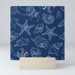 Sea vacation. Blue dream. Mini Art Print