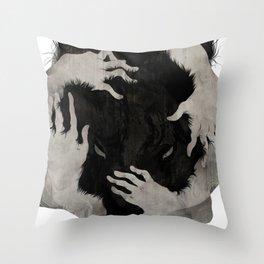 Wild Dog Throw Pillow